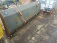 6ft tractor front loader dung grape fork with euro brackets fitted