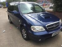 2006 kia sedona se 7 seater auto tdci only 79 k mls warranteed fresh mot new tyres leather full spec