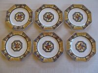 Wedgwood and Co Melody design small plates and serving platter