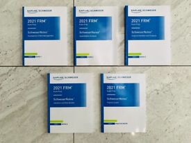 2021 FRM Part 1 (Part I) Exam Study Materials - NEW + FREE NEXT DAY DELIVERY