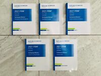 2021 FRM Part 1 (Part I) Exam Study Materials - NEW + FREE DELIVERY