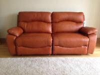 Sofalogy leather electric recliner sofa!