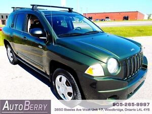 2009 Jeep Compass Sport **ACCIDENT FREE CERTIFIED ONE OWNER**