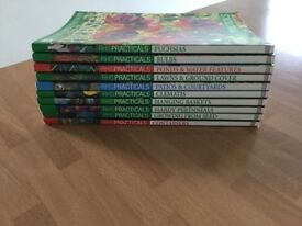 The Royal Horticultural Society Practicals a collection of 10 books in excellent condition