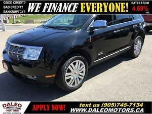 2009 Lincoln MKX AWD 94 KM  SUNROOF POWER LIFTGATE