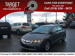 2009 Acura CSX Loaded, Leather, Roof, Drives Great Super Clean !