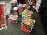 AUDIO BOOKS/TALKING BOOK BOXSETS ON CASSETTE AND CD 69 IN TOTAL IN GREAT CONDITION £45