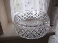 Crystal Cut-Glass Fruit Bowl