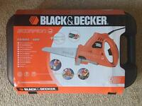 NEW - Black & Decker Scorpion Saw KS890EK 400W