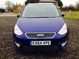 Ford Galaxy 2.0 TDCi 140 Zetec 5dr, 64 Reg, 19,985 miles, Excelent Condition, just serviced