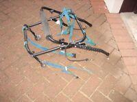 Rear mounted car bike carrier