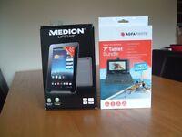 "MEDION LIFETAB 7"" TABLET E7318 (MD 98691) + KEYBOARD/CASE"