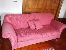 Laura Ashley 3 person sofa for sale.