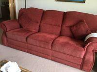 Living Room Suite Terracotta