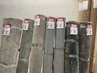 Carpet bargains. Roll ends to clear