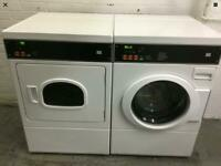 JLA 88 commercial washer and gas dryer set