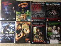Cult film DVD bundle. 8 movies.