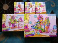 Polly Pocket Wall Party X5