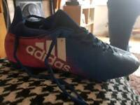 addidas football boots size 8 very good condition