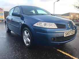 Renault Megane excellent condition service history only 53000 miles