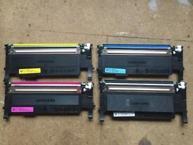 Genuine Samsung CLT-P4072C Ink Toner Cartridges for CLP-320/CPL 325/CLX 3180 & 3185 Samsung Printers