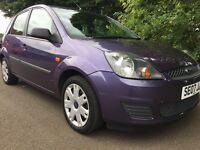 2007 Ford FIESTA 1.25 MK6 5dr style climate (9 months MOT and LOW MILES) and FSH (7 stamps)