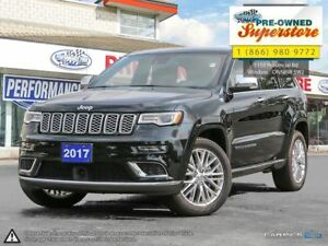 2017 Jeep Grand Cherokee Summit***lane assist, NAV, Moonroof***