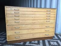 Plan chest /architects drawers