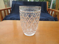Waterford Crystal Vase and two Galway crystal vases £10 each
