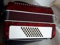 Stella piano accordion 48 bass