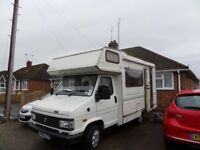 "Talbot Autoquest 320. 4/5 birth motorhome. "" 2 litre petrol, manual"""