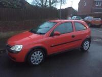 Corsa 1.0 2002 new mot last week, ideal first car , low tax and insurance