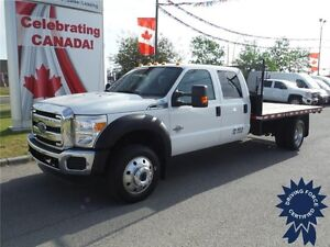 2015 F550 XLT SuperCrew 4WD - Diesel - 12ft Deck - Bluetooth