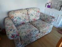 Two Seater Sofa, fair condition