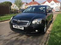 TOYOTA AVENSIS WITH FULL SERVICE HISTORY AND MOT UNTIL DECEMBER 2017