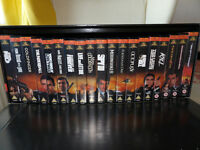 James Bond VHS Video Box Set - 19 videos, Dr No to The World is Not Enough