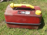 Vintage Petrol Can (Paddy Hopkirk) Complete.