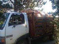 Firewood free delivery