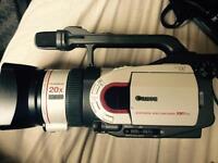 Canon XM1 kit + Flightcase + Tripod