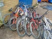 bikes for sale(joblot)