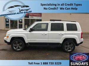 2015 Jeep Patriot HIGHALTITUDE, 4X4 LEATHER, NICE, FINANCE TODAY