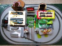 Train Set Joblot with Track ( mostly Hornby brand)