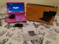 "10"" Screen Pink Bush Portable Dvd Player"