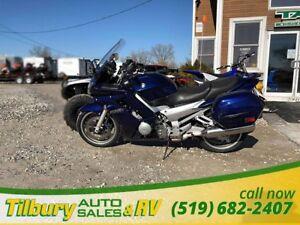 2005 Yamaha FJR1300 1298cc, DOHC, 16-valve, liquid-cooled engine