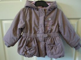 GIRLS JACKET 9-12 MONTHS