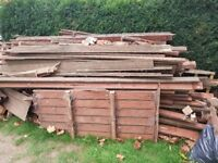 Free wood can be used for bonfire night.