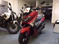 Yamaha NMax 125cc Automatic Scooter, Red, ABS, Excellent Condition ** Finance Available **