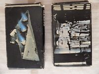 Vintage Parker Mini Puzzles Star Wars. Star Destroyer and Marching Stormtroopers
