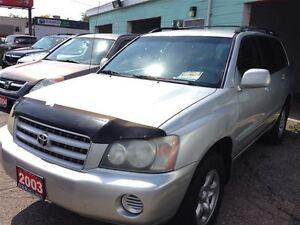2003 Toyota Highlander Base V6