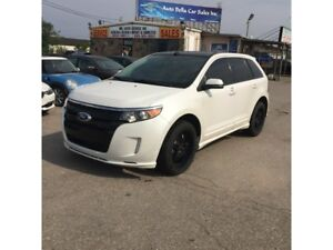 2014 Ford Edge Sport|AWD|Leather|panaromic roof|Lane assist